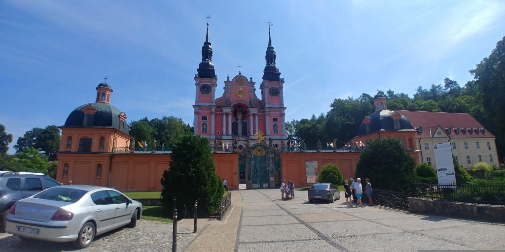 Barokowa Bazylika w Świętej Lipce