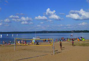 Plaża kruklanki