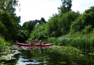 Spływ kajakowy rzeką Sapiną