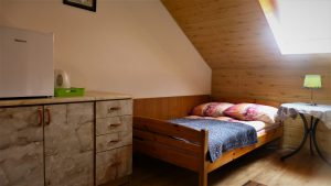 Studio 2 pokojowe z łazienką i aneksem kuchennym